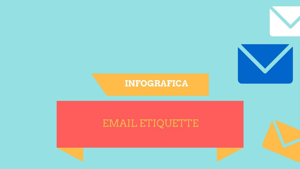 Email Etiquette Infografica