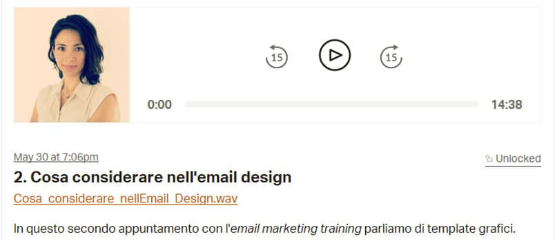 Email Design Guida E Podcast